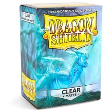 Dragon Shield Matte Clear Protective sleeves 100 count