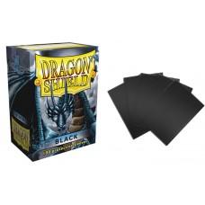 Dragon Shield Black Protective sleeves 100 count