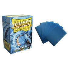 Dragon Shield Blue Protective sleeves 100 count