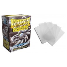 Dragon Shield Clear Protective sleeves 100 count