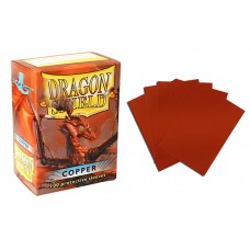 Dragon Shield Copper Protective sleeves 100 count