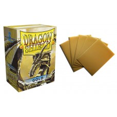 Dragon Shield Gold Protective sleeves 100 count