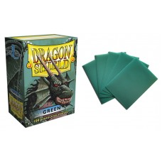 Dragon Shield Green Protective sleeves 100 count