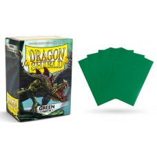 Dragon Shield Matte Green Protective sleeves 100 count