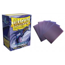 Dragon Shield Purple Protective sleeves 100 count