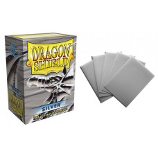 Dragon Shield Silver Protective sleeves 100 count