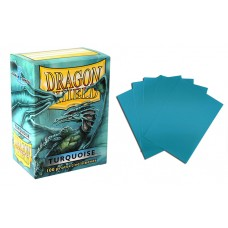 Dragon Shield Turquoise Protective sleeves 100 count