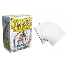 Dragon Shield White Protective sleeves 100 count