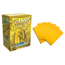 Dragon Shield Yellow Protective sleeves 100 count