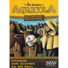 Agricola: All Creatures Big and Small: More Buildings Big and Small